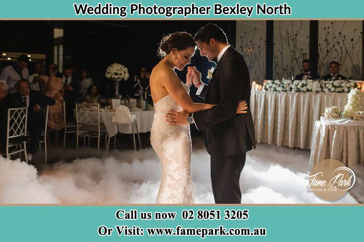 Photo of the Bride and the Groom dancing Bexley North NSW 2207