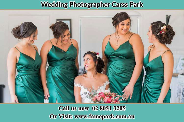 Photo of the Bride and the bridesmaids Carss Park NSW 2221