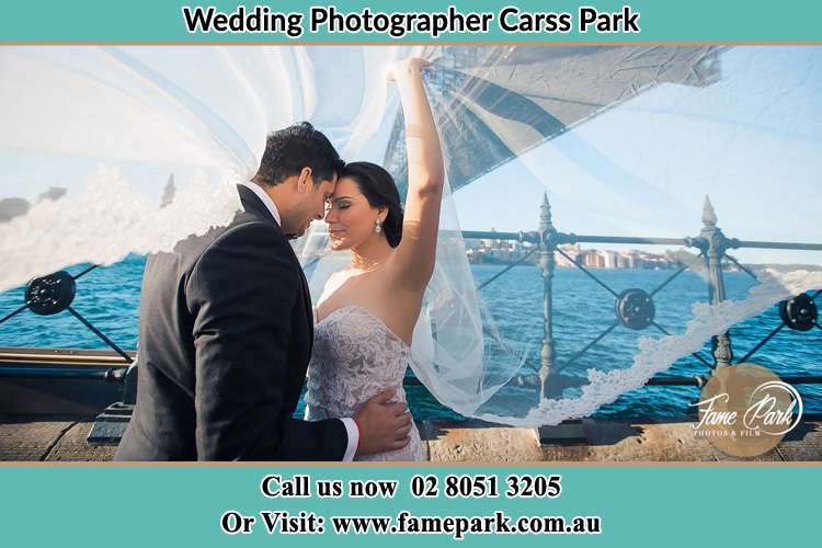 Photo of the Groom and the Bride kissing Carss Park NSW 2221