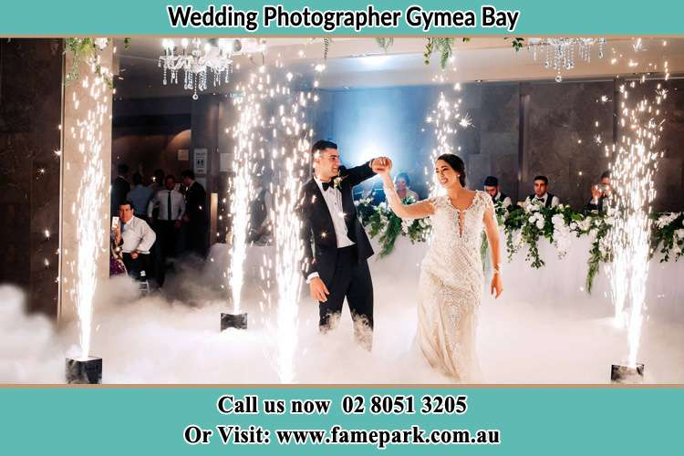 Photo of the Groom and the Bride dancing on the dance floor Gymea Bay NSW 2227