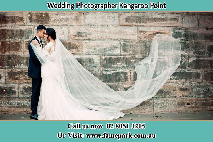 Photo of the Groom and the Bride dancing Kangaroo Point NSW 2224