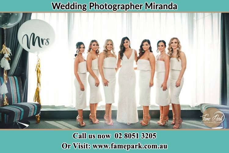Photo of the Bride and the bridesmaids Miranda NSW 2234