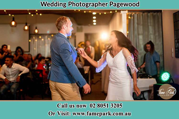 Photo of the Groom and the Bride dancing Pagewood NSW 2035