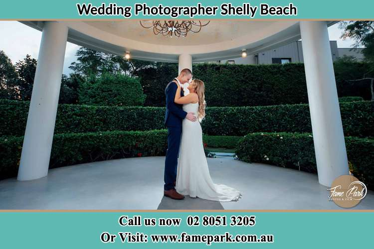 Photo of the Groom and the Bride dancing Shelly Beach NSW 2261