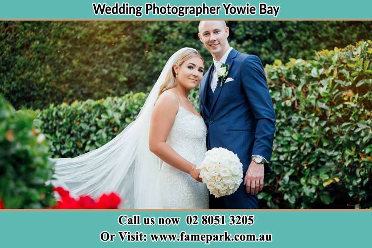 Photo of the Bride and the Groom Yowie Bay NSW 2228